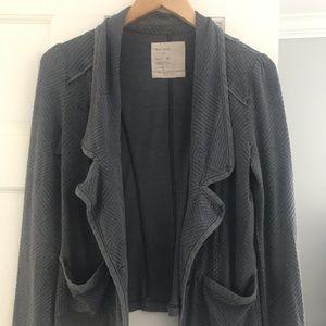 Free People Sweater Blazer - Size Small